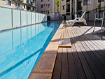pool in Perth Apartment accommodation
